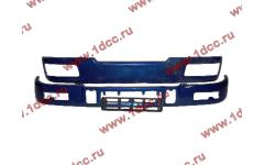 Бампер C синий верхний+нижний (в сборе) фото Комсомольск-на-Амуре